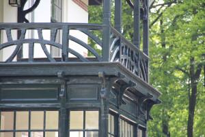 Apeldoorn Wilhelminapark balkon