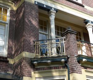 Apeldrron Regentesselaan balkon
